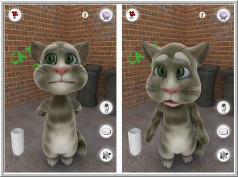 Talking Tom Cat для телефона Nokia 5228 5230
