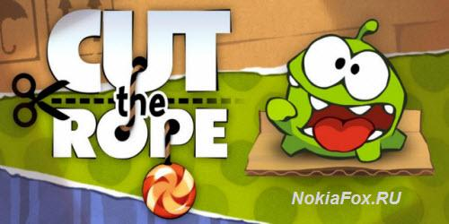 Cut the Rope для телефона Нокиа 5230 5228
